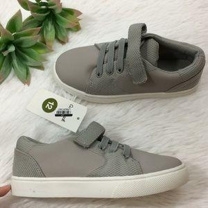 Cat & Jack Boys Sz 9,10,12 Gray Shoes Sneakers